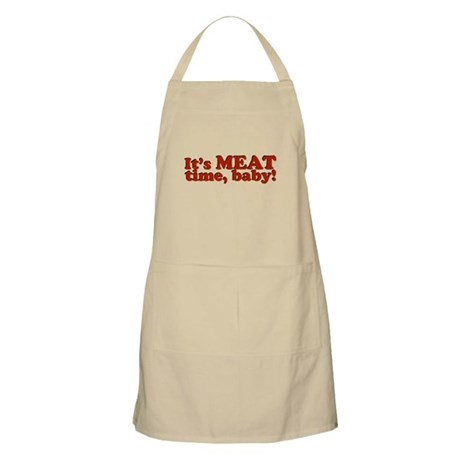 It's MEAT time, baby! BBQ Apron