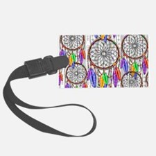 Dreamcatcher Rainbow Feathers Luggage Tag
