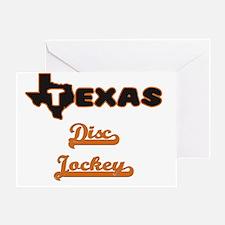 Texas Disc Jockey Greeting Card