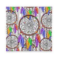 Dreamcatcher Rainbow Feathers Queen Duvet