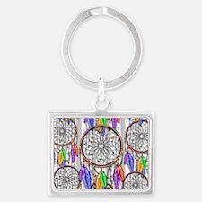 Dreamcatcher Rainbow Feathers Keychains