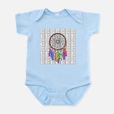 Dreamcatcher Rainbow Feathers Body Suit