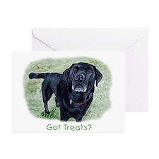 Got Treats? Lab Greeting Cards (Pk of 20)