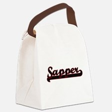 Sapper Classic Job Design Canvas Lunch Bag