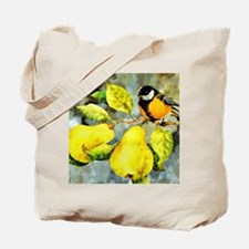 Nature - Bird Perched on a Tree Limb Tote Bag
