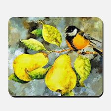Nature - Bird Perched on a Tree Limb Mousepad