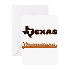Texas Dramaturg Greeting Cards