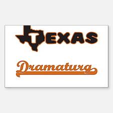 Texas Dramaturg Decal