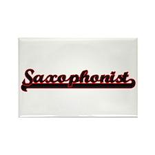 Saxophonist Classic Job Design Magnets