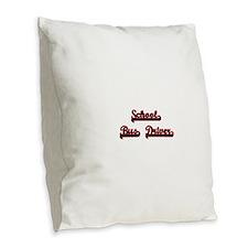 School Bus Driver Classic Job Burlap Throw Pillow