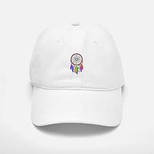 Dreamcatcher Rainbow Feathers Baseball Baseball Cap