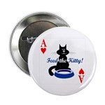 Cats Playing Poker Button