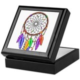Dreamcatcher Square Keepsake Boxes