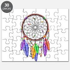 Dreamcatcher Rainbow Feathers Puzzle