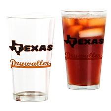 Texas Drywaller Drinking Glass