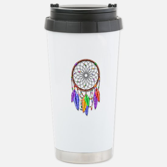 Dreamcatcher Rainbow Fe Stainless Steel Travel Mug