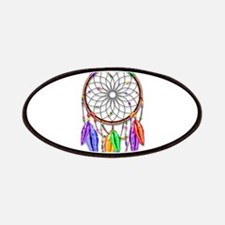 Dreamcatcher Rainbow Feathers Patch