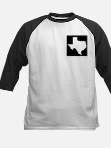 White Texas Outline Tee