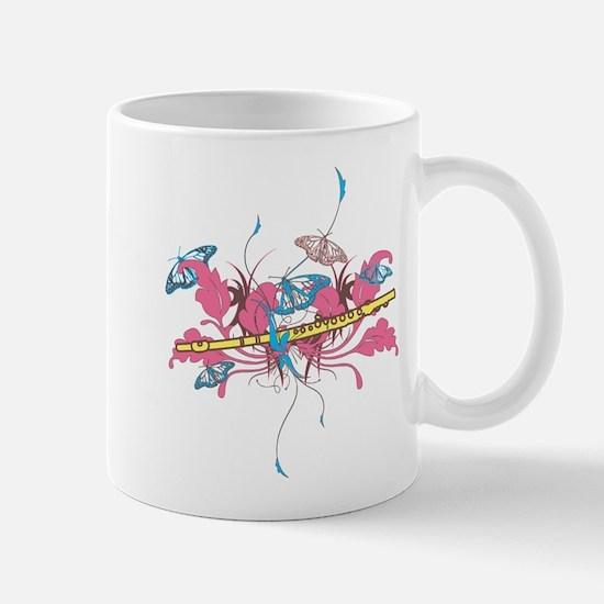 Butterfly Flute Mug
