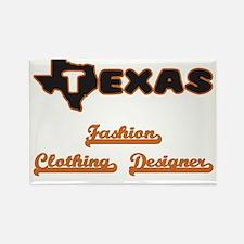 Texas Fashion Clothing Designer Magnets