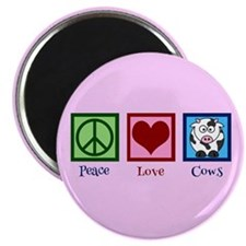 "Pink Cow 2.25"" Magnet (100 pack)"