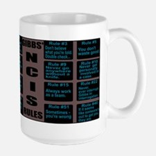 NCISTV Gibbs' Rules Mugs
