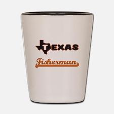 Texas Fisherman Shot Glass