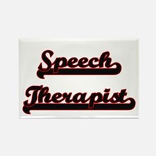 Speech Therapist Classic Job Design Magnets