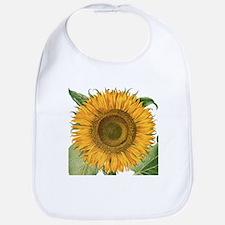 Vintage Sunflower Basilius Besler Bib