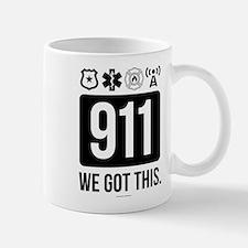 911, We Got This. Mugs