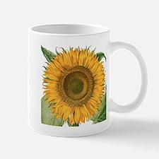 Vintage Sunflower Basilius Besler Mugs