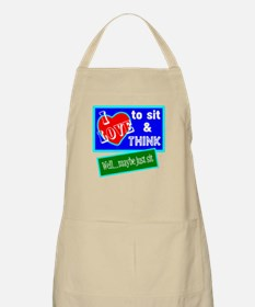 Sit And Think Apron