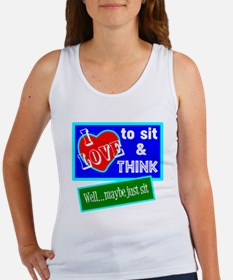 Sit And Think Tank Top