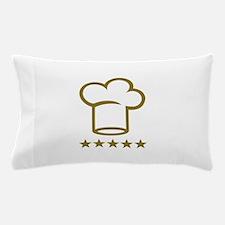 Chef golden stars Pillow Case
