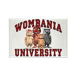 Wombania University Rectangle Magnet (10 pack)