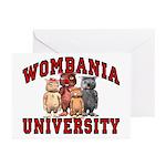 Wombania University Greeting Cards (Pk of 20)