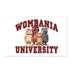 Wombania University Mini Poster Print
