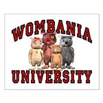 Wombania University Small Poster