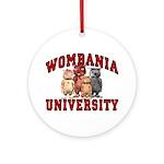 Wombania University Ornament (Round)