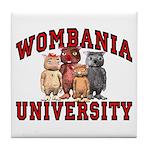 Wombania University Coaster Tile