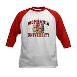 Wombania University Kids Baseball Jersey