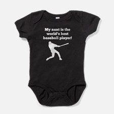 My Aunt Is The Worlds Best Baseball Player Baby Bo