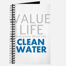 Value Life - Clean Water Journal