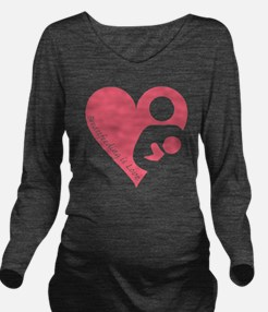 Breastfeeding is Lov Long Sleeve Maternity T-Shirt