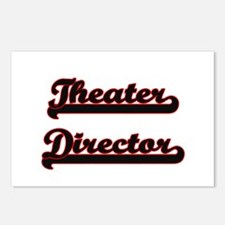 Theater Director Classic Postcards (Package of 8)
