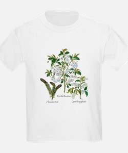 Vintage Flowers by Basilius Bes T-Shirt