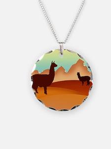 2 alpacas 2.png Necklace