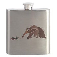 Anteater Meets His Lunch Flask