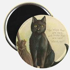 TLK003 Halloween Cat Magnet