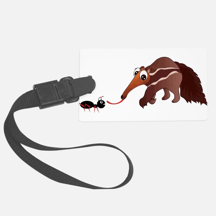 Anteater Meets His Lunch Luggage Tag